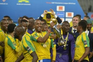 memalodi sundowns lift their first continental trophy.