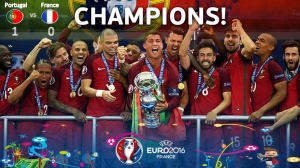 Portugal are the Euro'16 champions