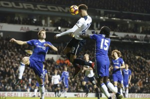 Dele heads in his 7th goal in 4 matches.